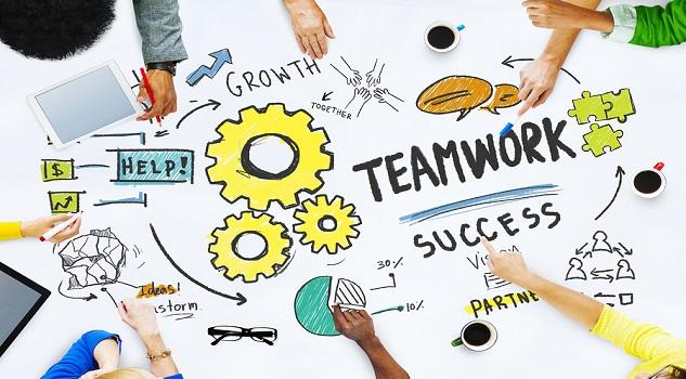 Teamwork Team Together Collaboration Meeting Office Brainstormin
